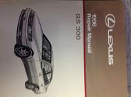 1996 Lexus GS300 GS 300 Service Shop Repair Manual DEALERSHIP 96 1996 LEXUS BOOK