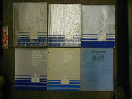 1989 MITSUBISHI Galant Service Repair Shop Manual 6 Volume SET OEM BOOK 89 DEAL