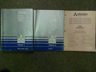 1990 MITSUBISHI Truck Service Repair Shop Manual 3 VOLUME SET FACTORY OEM 2 VOL
