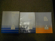 1990 MITSUBISHI Precis Service Repair Shop Manual 3 VOLUME SET FACTORY OEM 90