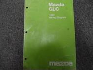 1980 Mazda GLC Electrical Wiring Service Repair Shop Manual FACTORY OEM BOOK 80