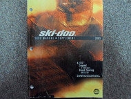 2003 Ski Doo 4 Tec Legend Grand Tour Service Repair Shop Manual Supplement OEM