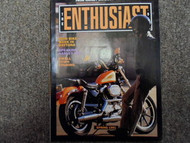1991 Harley Davidson The Enthusiast Collectible Magazine Factory OEM BOOK 91