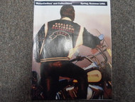 1991 Harley Davidson Summer Spring Motorclothes and Collectibles Catalog Manual