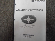 1998 Polaris ATV & Light Utility Service Repair Shop Manual FACTORY OEM BOOK