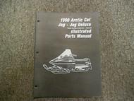 1990 Arctic Cat Jag Jag Deluxe Illustrated Parts Service Shop Manual OEM 90