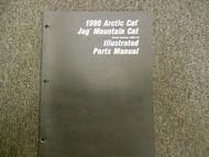 1990 Arctic Cat Jag Mountain Cat Illustrated Parts Service Manual FACTORY OEM
