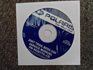 2007 POLARIS Trail Boss 330 Service Repair Shop Manual CD FACTORY OEM 07 x