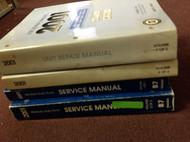 2001 Chevy GMC TRUCK Medium Duty B7 CHASSIS Service Shop Repair Manual SET W UNI