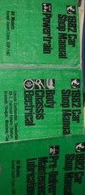 1982 LINCOLN CONTINENTAL Service Shop Repair Manual SET OEM FACTORY W PT SM PRED