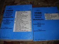 1988 Ford F B C F600 F700 C600 C700 C8000 B600 Shop Service Repair Manual SET