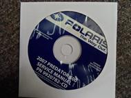 2008 POLARIS Phoenix Sawtooth Service Repair Shop Manual CD FACTORY OEM 08