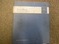 1960s 70s 80 90 MERCEDES Maintenance Tuning Diesel Engine 636 621 Service Manual