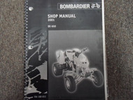 2001 Bombardier DS 650 ATV Shop Repair Service Manual FACTORY DEALER OEM BOOK x