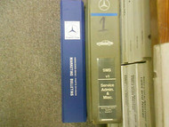 1973 1995 MERCEDES 107 124 126 140 Microfiche Marketing Diagram Service Manual