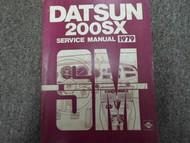 1979 Datsun 200SX Service Repair Shop Manual FACTORY DEALER SHIP OEM BOOK 79