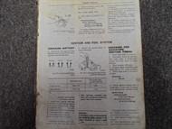 1979 Datsun 310 Service Shop Repair Manual FACTORY OEM BOOK 79 Missing Covers