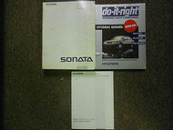 1989 HYUNDAI SONATA Service Repair Shop Manual SET FACTORY OEM BOOK 89 3 VOL