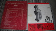 1989 Lincoln Mark VII 7 Service Shop Repair Manual Set W EWD + PCED + SPECS BK x