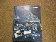 1997 ISUZU Technical Service Bulletins Manual FACTORY OEM BOOK 97