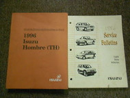 1996 ISUZU HOMBRE TH Electrical Driveability Service Repair Shop Manual SET OEM