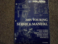 2005 Polaris TOURING MODELS Service Shop Repair Manual OEM FACTORY BOOK 05