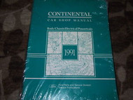 1991 LINCOLN CONTINENTAL Service Shop Repair Manual OEM DEALERSHIP FACTORY 91