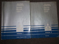 1989 MITSUBISHI Truck Service Repair Shop Manual FACTORY OEM SET 2 VOLUME DEAL