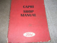 1971 Ford Mercury Capri Service Shop Repair Manual FACTORY OEM BOOK 71