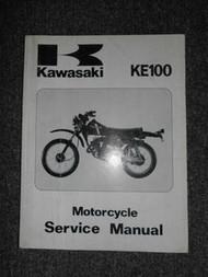 1979-1994 Kawasaki KE100A KE100B Service Repair Shop Manual OEM Motorcycle