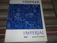 1966 Chrysler NEWPORT 300 IMPERIAL CROWN LEBARON Service Shop Repair Manual WORN