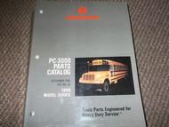 1995 1996 1997 International IHC 3000 MODEL SERIES PC 3000 PARTS CATALOG Manual
