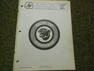 1974 Arctic Cat Wankel Panther Illustrated Service Parts Catalog Manual OEM