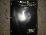 1985 Arctic Cat Kitty Cat Illustrated Service Parts Catalog Manual FACTORY OEM