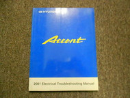 2001 HYUNDAI ACCENT Electrical Troubleshooting Manual Schematics Harness OEM