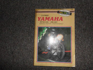 1981-1987 Clymer Yamaha XV700-1100 Service Repair Maintenace Manual DEAL