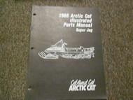 1988 Arctic Cat Super Jag Illustrated Service Parts Catalog Manual FACTORY OEM