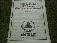 1991 Arctic Cat EXT Special Illustrated Service Parts Catalog Manual FACTORY OEM