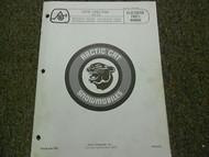 1976 Arctic Cat Cheetah Illustrated Service Parts Catalog Manual FACTORY OEM