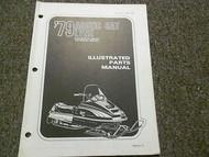 1979 Arctic Cat Lynx Illustrated Service Parts Catalog Manual FACTORY OEM