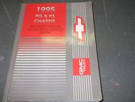1995 Chevrolet GMC PG P3 Service Repair Shop Manual FACTORY OEM BOOK