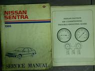 1985 Nissan Sentra Service Shop Repair Manual Set Factory OEM 85