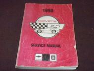 1990 Chevrolet Chevy CORVETTE Service Repair Shop Manual FACTORY OEM BOOK X 90