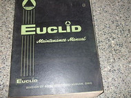Euclid Models Series 3 4 6-71 71E 71N 71T Service Shop Repair Manual Diesel