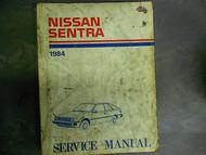 1984 84 NISSAN SENTRA Service Repair Shop Manual Factory OEM