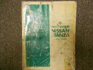 1982 Datsun Nissan Stanza Service Repair Shop Manual Factory OEM 82