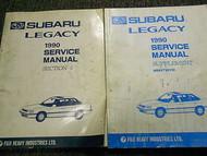 1990 Subaru Legacy Body Section Service Repair Shop Manual SET FACTORY OEM 90