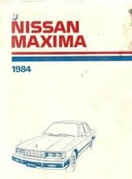 1984 84 NISSAN MAXIMA Service Repair Shop Manual Factory OEM BOOK DEALERSHIP
