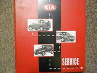 KIA Service Training Guide Technician Times Manual Factory Binder