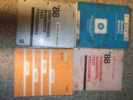 1988 Dodge RAM VAN WAGON RWD Service Shop Repair Manual SET OEM FACTORY BOOK